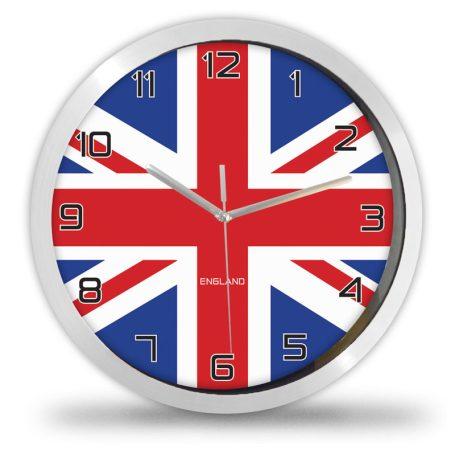 Angol zászlós falióra