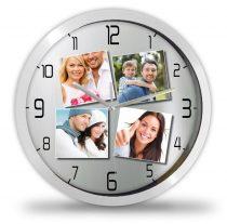 4 Fényképes modern óra