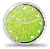 Színes zöld modern falióra