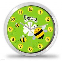 Méhecskés falióra