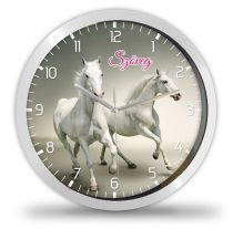 Fehér lovak falióra