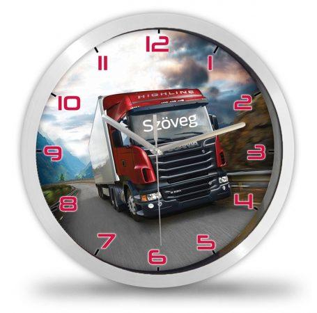 Scania kamionos falióra