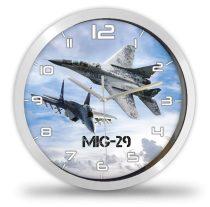 MIG-29 vadászgép falióra
