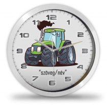 Traktoros falióra