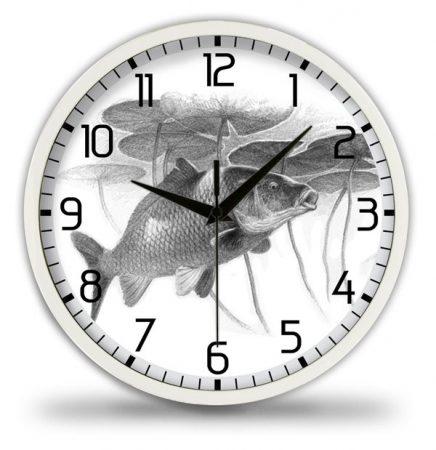 Horgász falióra