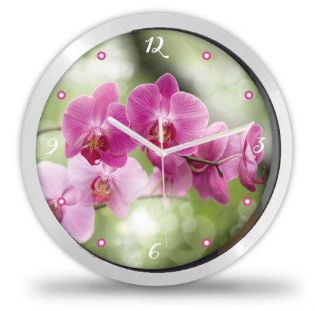 Orchidea virágos falióra